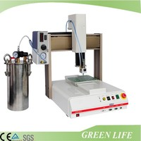 Fully automatic desktop glue mixing dispensing machine/dispenser machine