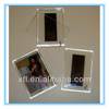 acrylic family photograph frame with support stand