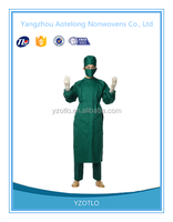 Hot sale high quality Disposable Medical Nonwoven Sterile Surgical Gown doctor cloth