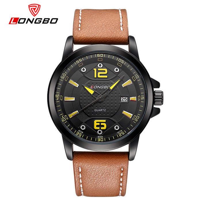 LongBo Wholesale Low Price teenage water resistant men Free Logo watch