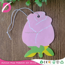 Environmental absorbent paper material air freshener card for air conditioners