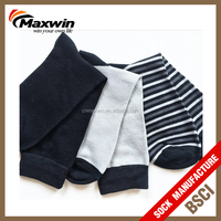 stipe men's dress 100 cotton socks combed