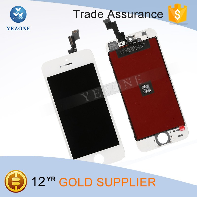 4.0 inches White LCD Display Replacement Part For iPhone SE LCD Touch Screen Digitizer Assembly