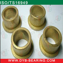 Full Copper Bushing 100% solid brass metric oil retaining bronze or iron powder shape of sintered FU bushing