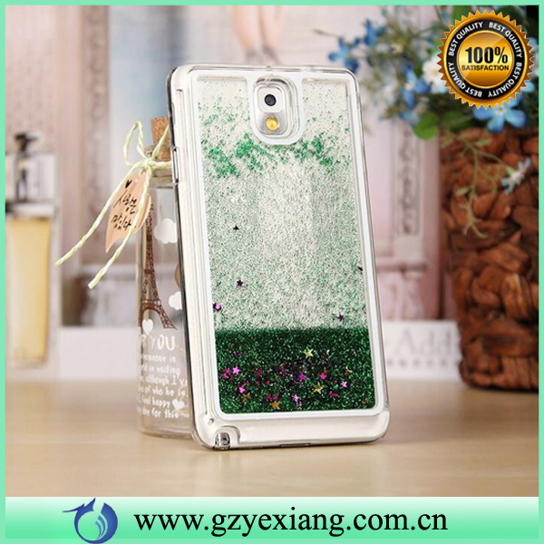 Luxury Glitter Star Liquid Hard Case For Samsung Galaxy Note 3 Case