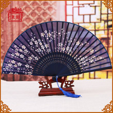 Inclduding shipping cost Beautiful and Popular Chinese Ink Painting Printed Folding Portable Silk Hand Fans GYS805-2