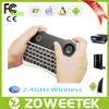 Air mouse and touchpad combo wireless mini arabic keyboard