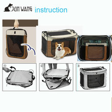 hot sale indoor or outdoor use foldable cat cage dog pet carrier