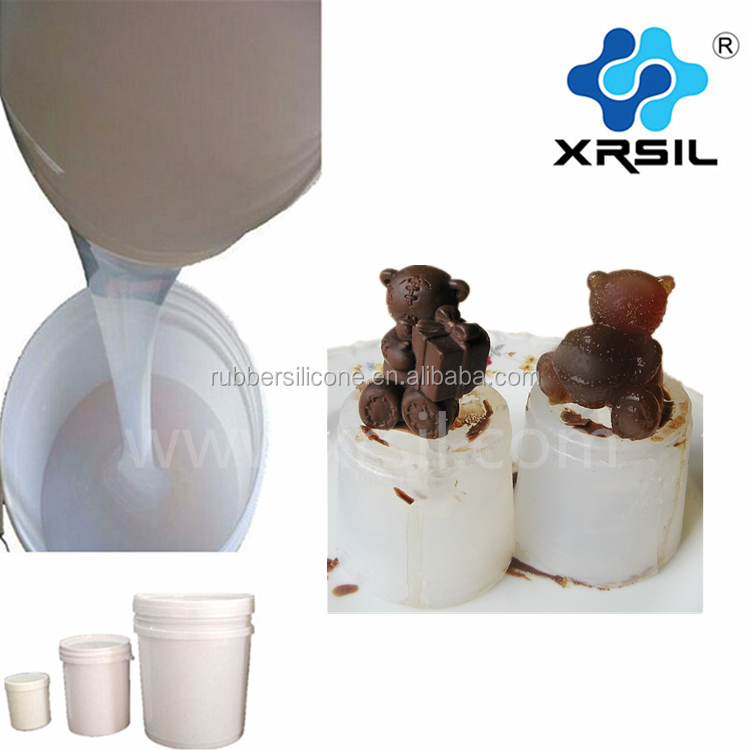 Medical Silicon rubber material liquid silicone for chocolate mold
