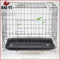 Plastic Pet Dog House/ Stainless Steel Cheap Chain Link xxl Dog Kennel Cage