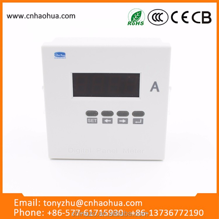 96 series single-phase DC digital ammeter and ct