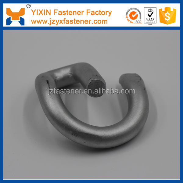 Stainless steel 60Si2CrA rail elastic clips/ rail clips for subway