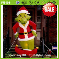 inflatable christmas decoration dog mini inflatable christmas decoration blower for inflatable decoration on sale