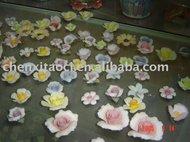 Mini Ceramic Flower-handmade porcelain flower