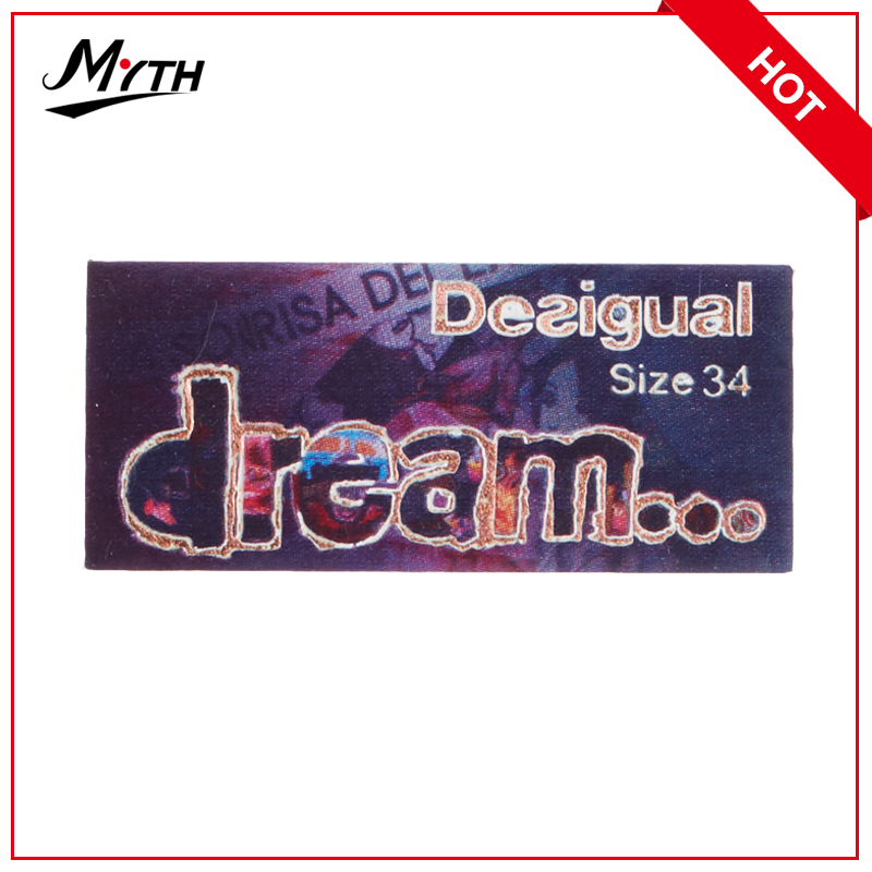 No MOQ custom clothing labels cheap/custom product labels/private label baby products