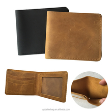 vintage genuine leather men's wallet slim wallet wholesale made in China suede wallet