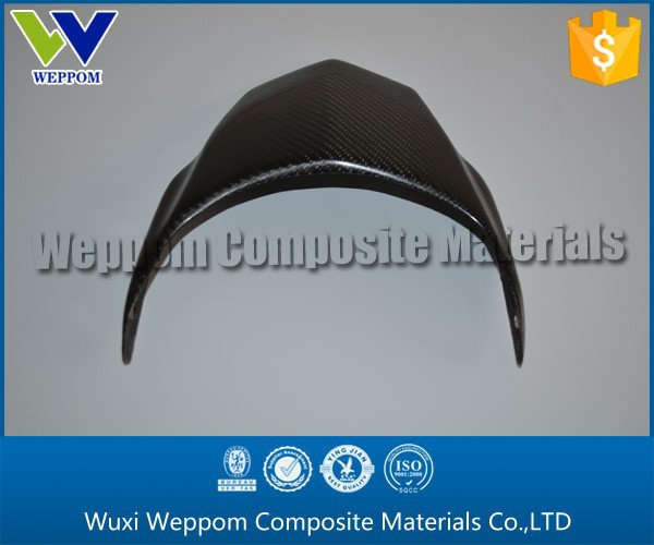 Black Surface Carbon Fiber Motorcycle Parts From China Supplier