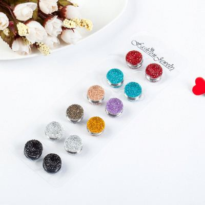 Trend Fashion Female Scarf Button Muslim Sky Star Pin Brooch For Jewelry Accessories