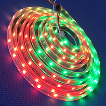 Ws2811 Uv Addressable 5050 Rgb Dream Color Led Strip With Connector