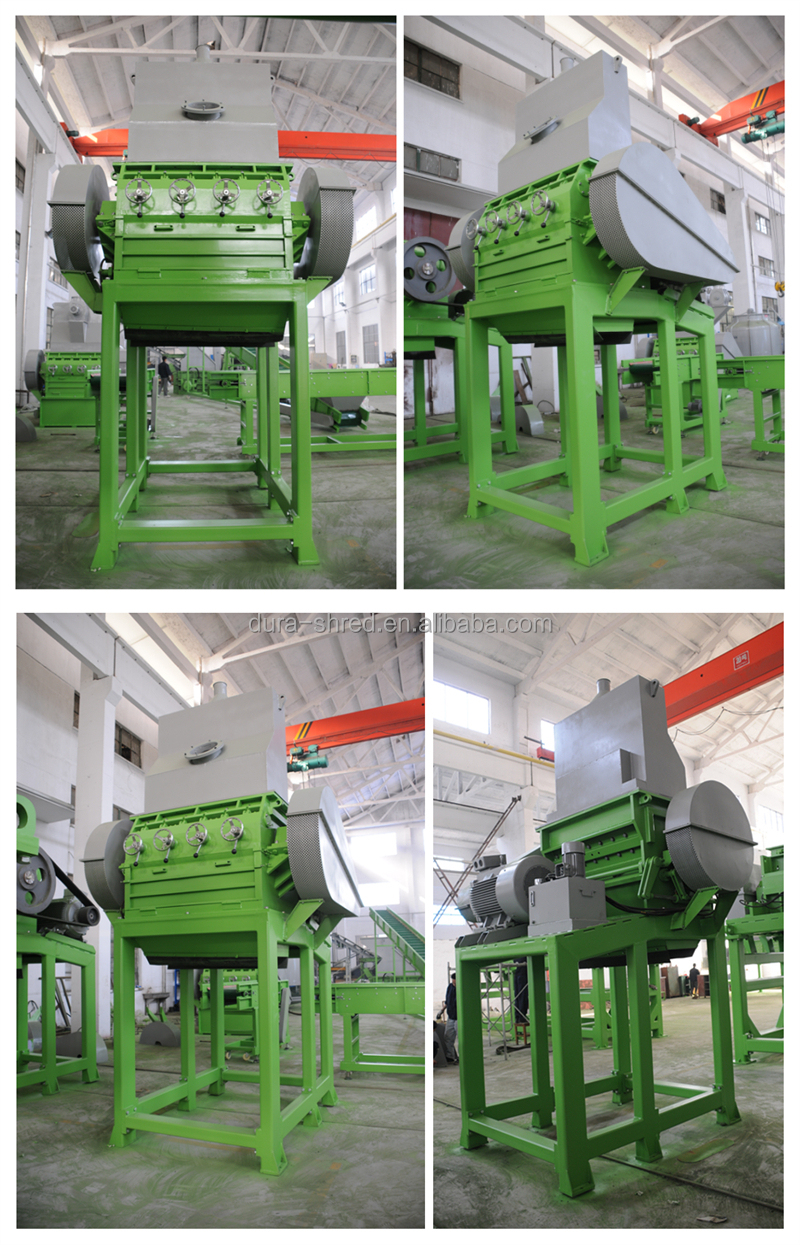 First Class Tyre Shredder For Rubber crumb