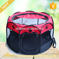 wholesale pop up pet breathable folding kennel dog cage exercise pen