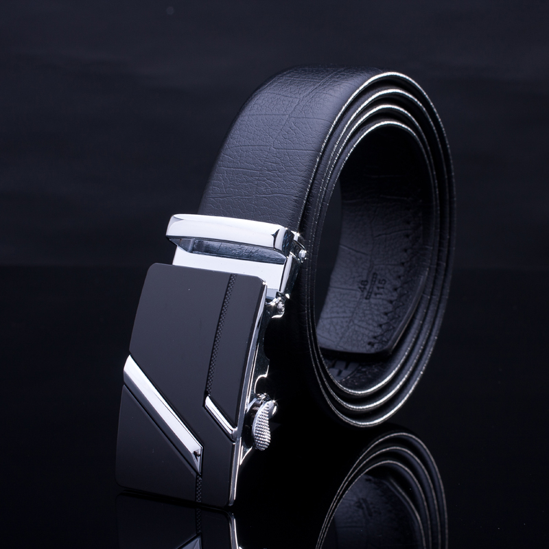 Hot selling genuine leather <strong>belt</strong> for man automatic buckle <strong>belts</strong> leather <strong>belt</strong>