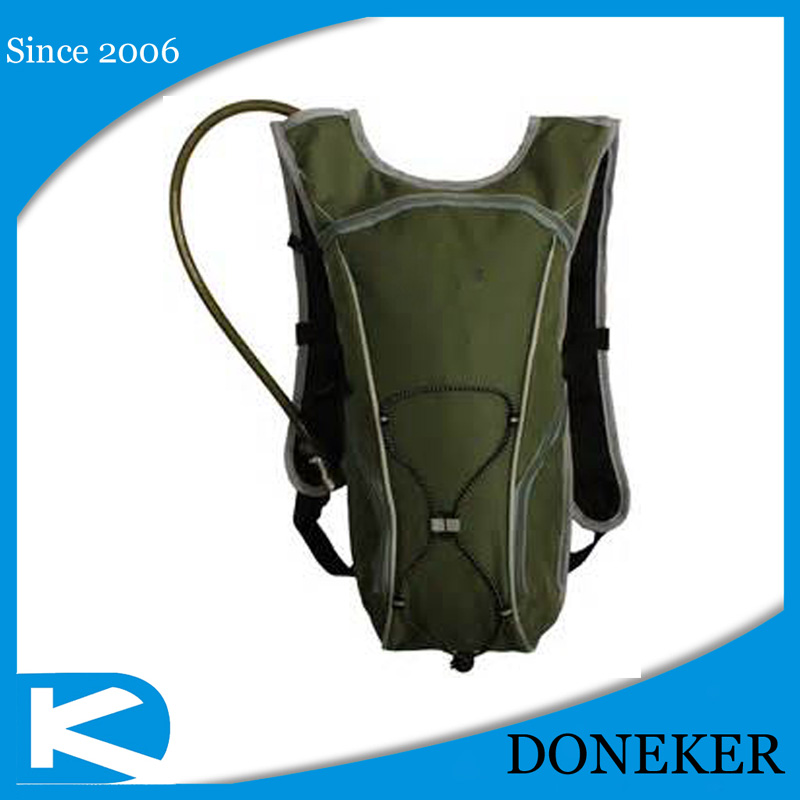 Bike hydration water hyacinth pack backpack with 2L water bladder for Outdoor sports bike backpack