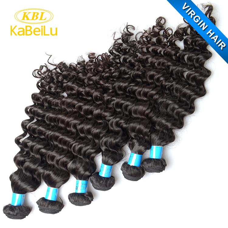 Kbl Blond Curly Brazilian Knot Hair Extensionsvirgin Brazilian
