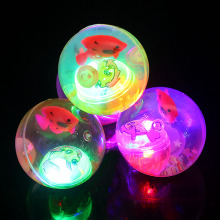 Light high luminous bouncing ball flashing bouncing ball colorful elastic ball