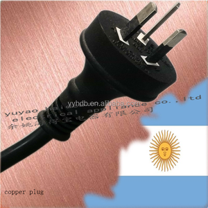 Power cord POWER PLUG 3-pin Argentina