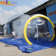 High quality customized large dome tent transparent event bubble tent inflatable for sale