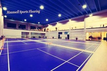 indoor basketball and badminton court pvc flooring with Sandwich System
