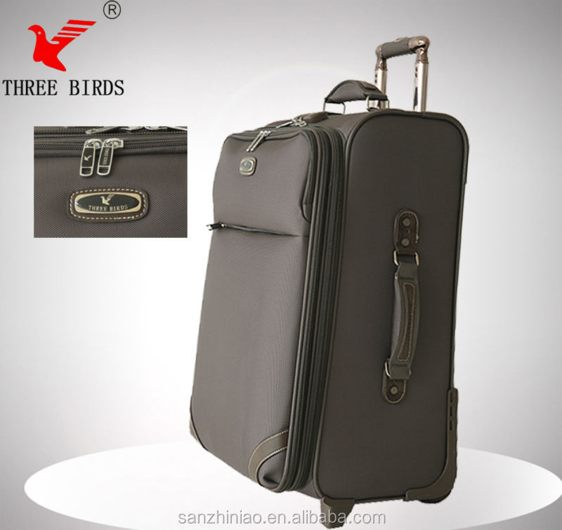 2017 most fashion brand bag, china manufacture three birds travel brand bag,decent business bag