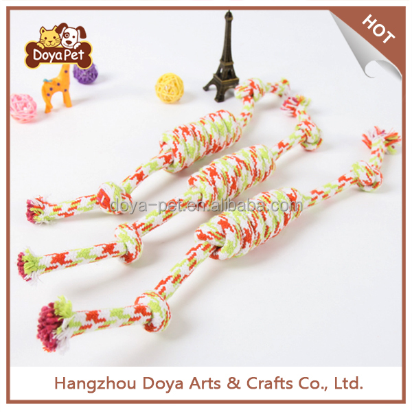 Wholesale Pet Supplies Chew Clean Cotton Rope Knot Dog Toys For Pet
