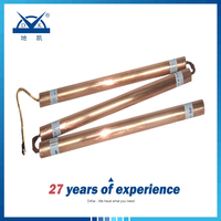 Chemical Earthing Compound Electrolytic Grounding Electrode Copper Ground Rod