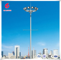 Electric lift Middle high mast lights pole, street lights and lightings