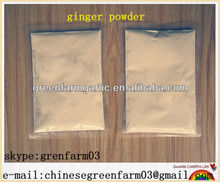 light yellow dried ginger powder