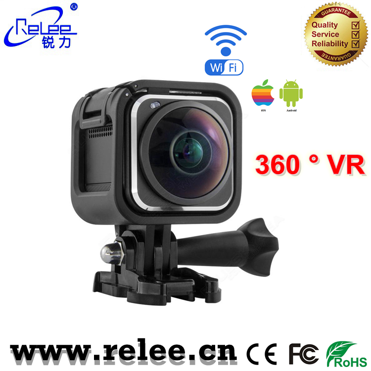Ultra HD Wifi sports camcorder 1080P 360degree VR camera 360 Action Camera
