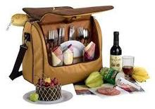 Picnic cooler bag/ thermos picnic bag/ picnic basket cool bag