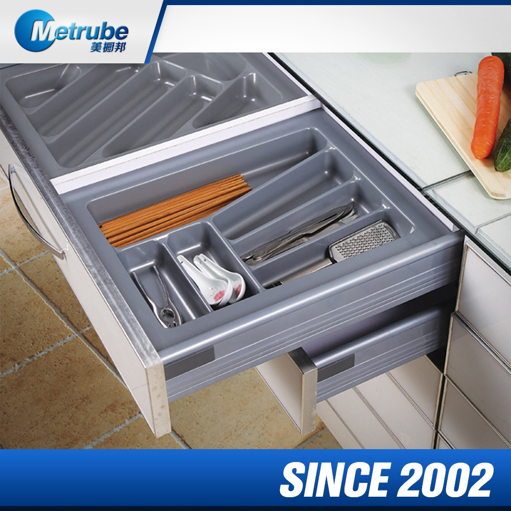 Alibaba China Market Plastic Tray With Dividers Fork Storage Tray
