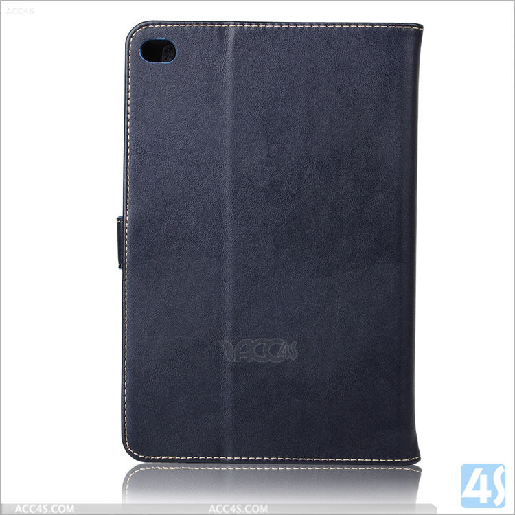 New wholesale China factory cheap OEM flip leather case for ipad mini 4