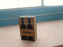 corrugated box for wine packaging