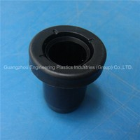 OEM wear-resisting injection molding plastics parts PA6 nylon sleeve bushing as your drawing