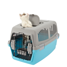Dog accessories wholesale travel flight Large-size plastic pet carriers with 2 doors