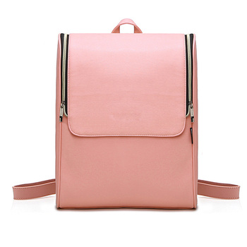 huadu pink fashion lady genuine leather bag for gift