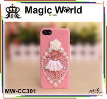 Angel girl cell phone cover