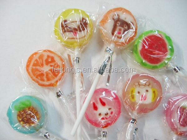 Automatic lollipop candy food packing machine