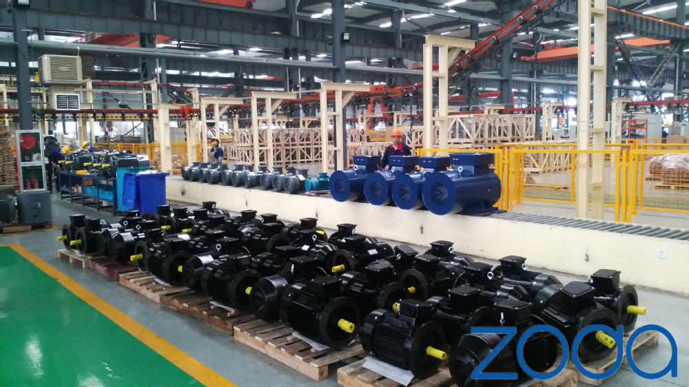 ZYS Series air compressor three phase asynchronous Electric Motor(H132-355mm, kW)