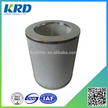 Paper Pleated Round Type HEPA Air Filter Cartridge