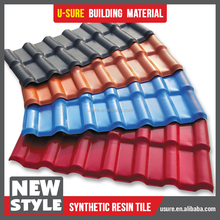 Top sale manufactory warehouse Brand new resin composite roof tile